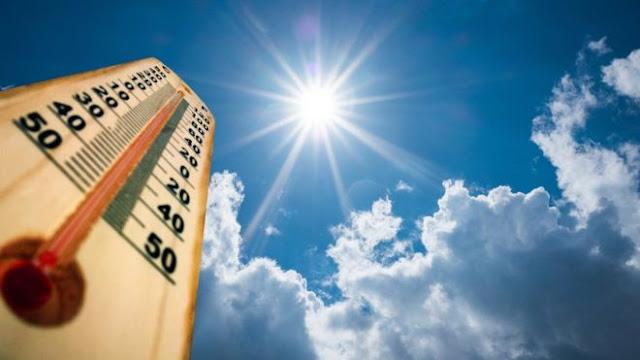 Meteorología informa continuarán temperaturas calurosas este lunes