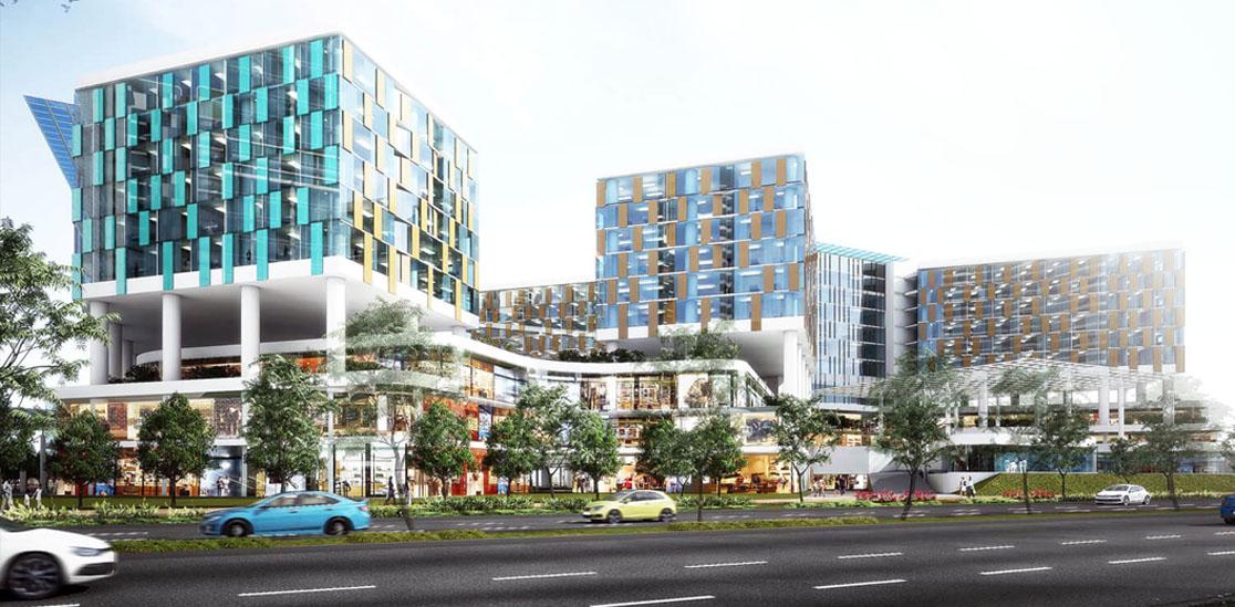 không gian kiến trúc khu đô thị sala quận 2