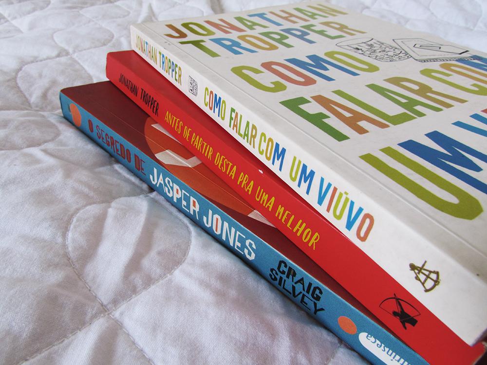 3 livros para sair da rotina
