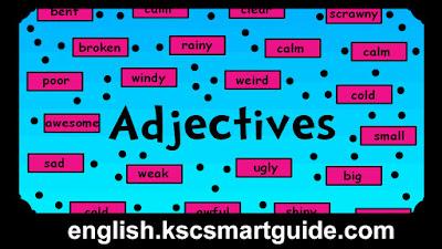Adjectives-kscsmartguide