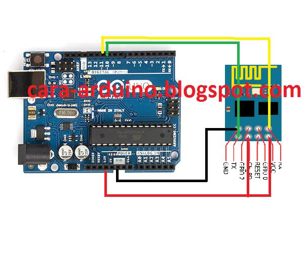 Cara mengontrol alat elektronik lampu relay via wifi