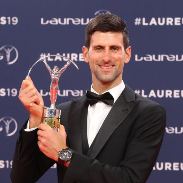 Novak Djokovic wins Laureus Sportsman of the Year for the fourth time