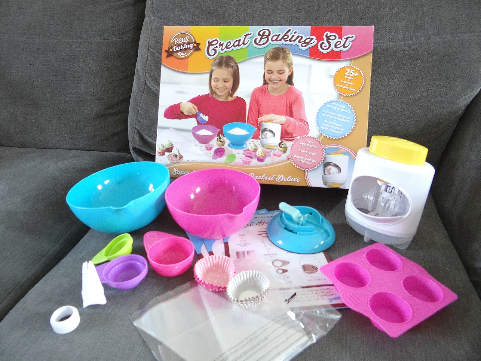 GBBO, Vivid Real Baking Great Baking Set, Children Cupcakes Baking Set