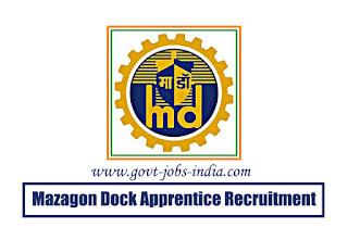 Mazagon Dock Apprentice Recruitment 2020