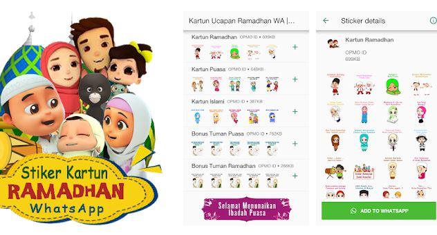 Download Aplikasi Stiker Ucapan Selamat Ramadhan 1441 H/2020 : Bisa Dikirim Melalui WA