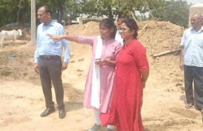 ADM Priya Singh Inspect Cow Shelter Home As CM Yogi Suspend Officers News In Hindi Uttar Pradesh