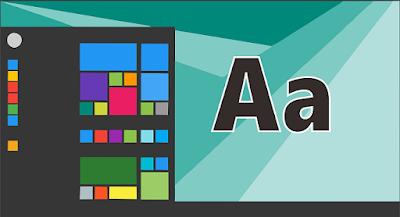 Cara mengganti ukuran dan jenis font Windows 10