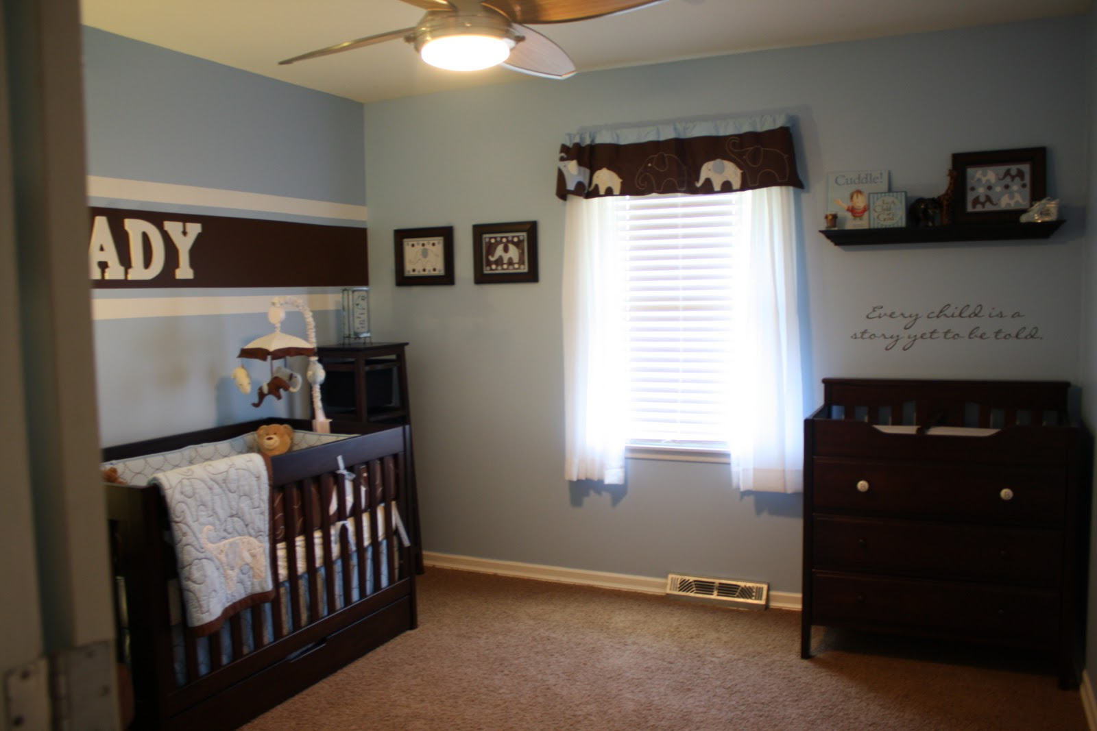 Baby Boy And Girl Sharing A Room Love Marriage Dark Blue Bedroom Ideas