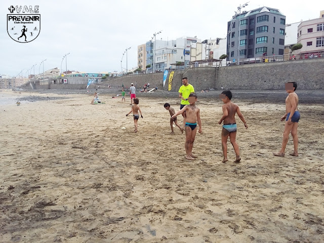 playa canteras deporte niños