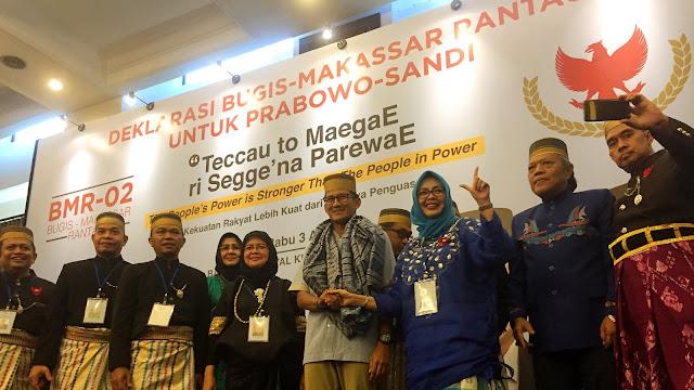 Sandi Terima Dukungan Saudagar Bugis-Makassar Rantau
