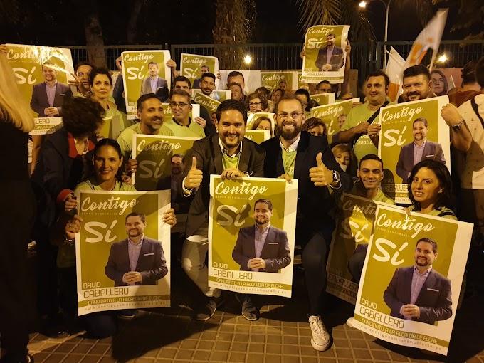 David Caballero sale a ganar las elecciones municipales del 26M