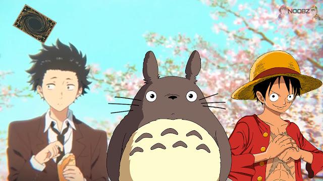 Os Dez melhores filmes anime de 2016