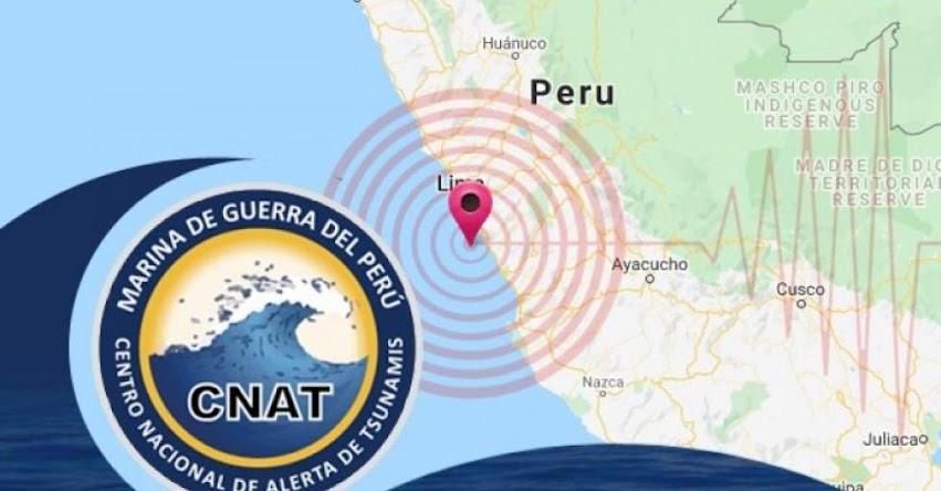 SISMO EN CAÑETE - LIMA: Marina de Guerra descarta tsunami tras sismo de magnitud 6.0