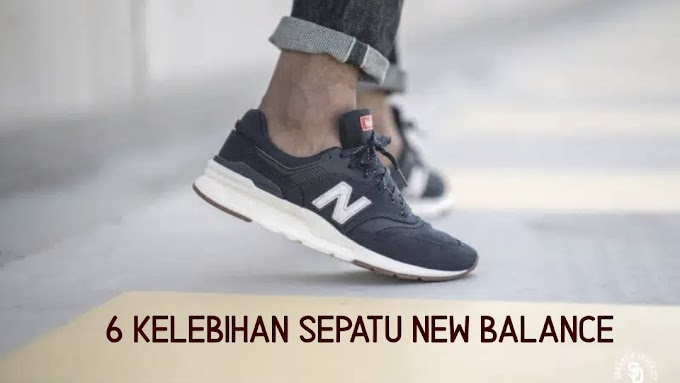 6 Kelebihan Sepatu New Balance