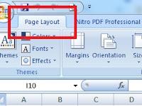 Menampilkan Tab Page Layout Saja Di Excel By Custom UI