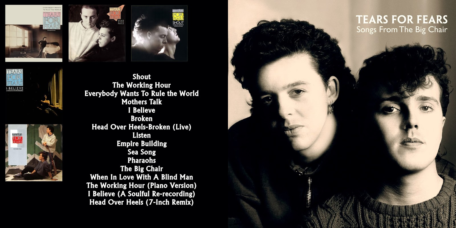 Tears For Fears - Songs From the Big Chair - 1985 & All the Air In My Lungs: Tears For Fears - Songs From the Big Chair ...