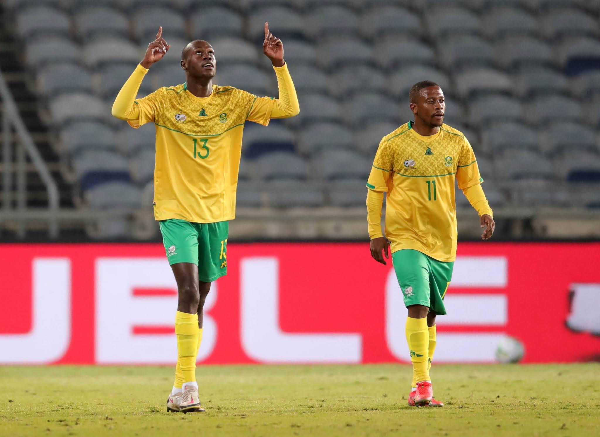 Evidence Makgopa and Thabiso Kutumela