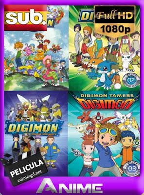 Digimon peliculas [8/8] subtitulada HD [1080P] [GoogleDrive] RijoHD