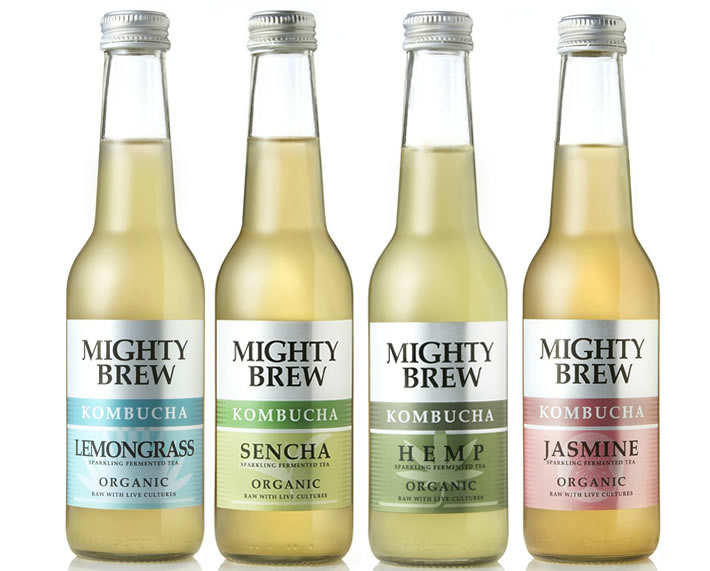 Mighty Brew Organic Kombucha