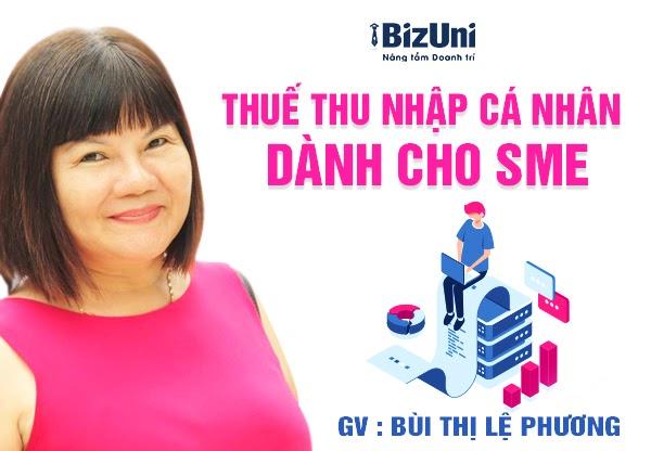 Share khóa học Thuế thu nhập cá nhân dành cho SME
