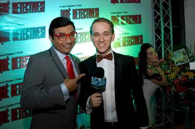 Oscar Alejandro al lado de Moncho Martinez