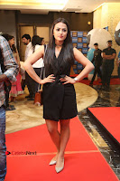 Actress Shraddha Srinath Stills in Black Short Dress at SIIMA Short Film Awards 2017 .COM 0032.JPG