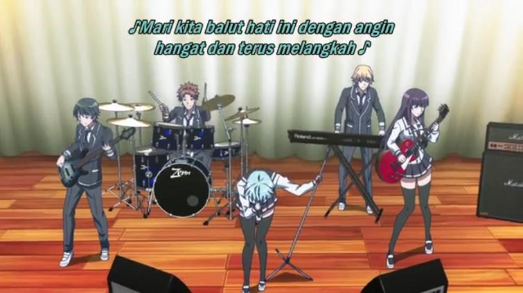 anime romantis tema musik fuuka
