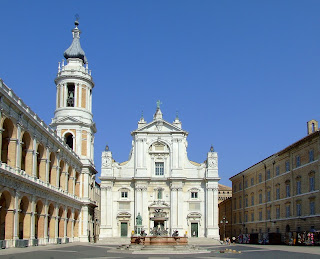 The Basilica della Santa Casa in Loreto, where Giacomelli was maestro di cappella until his death in 1740