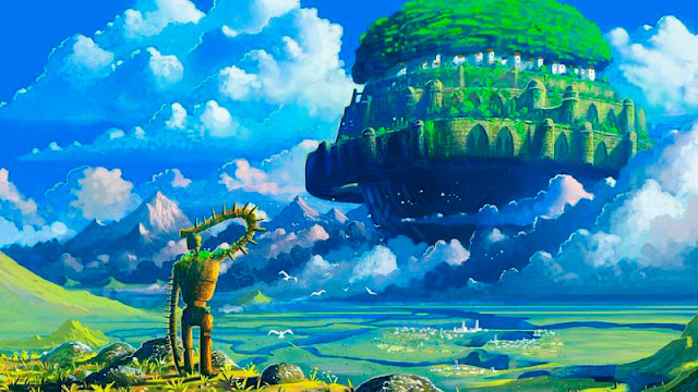 Fotograma 2 de la película de animación de Studio Ghibli, El Castillo en el Cielo