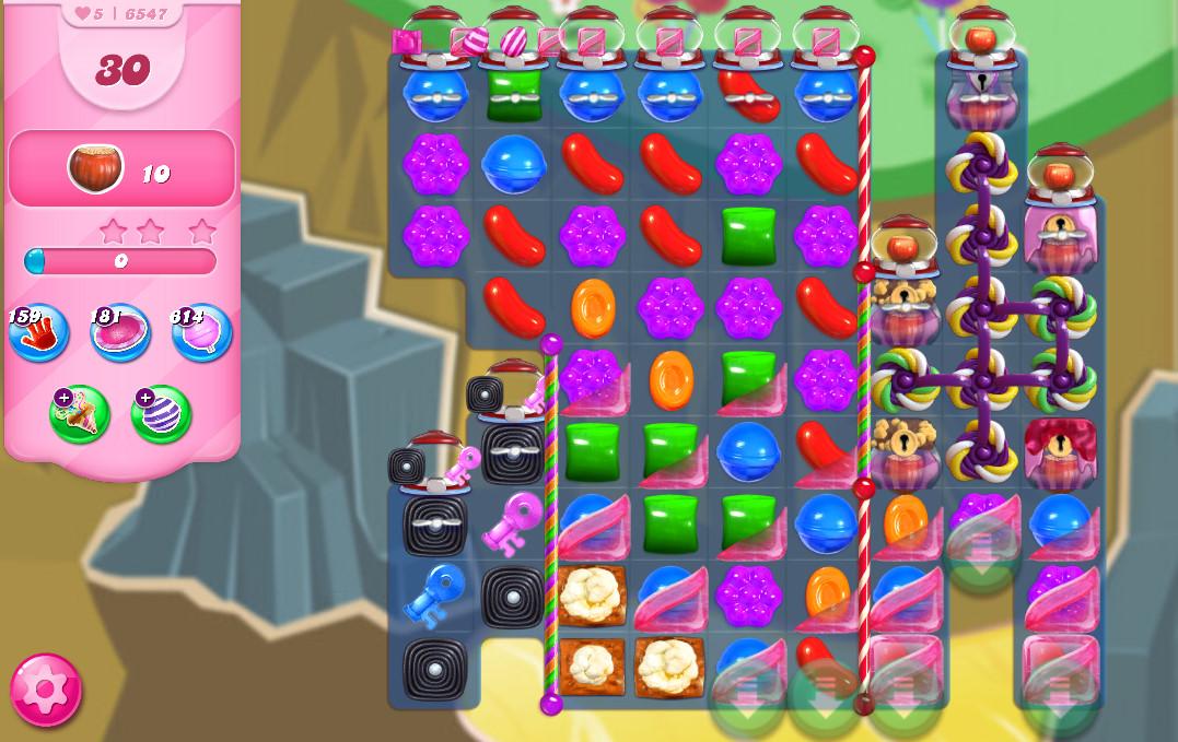 Candy Crush Saga level 6547