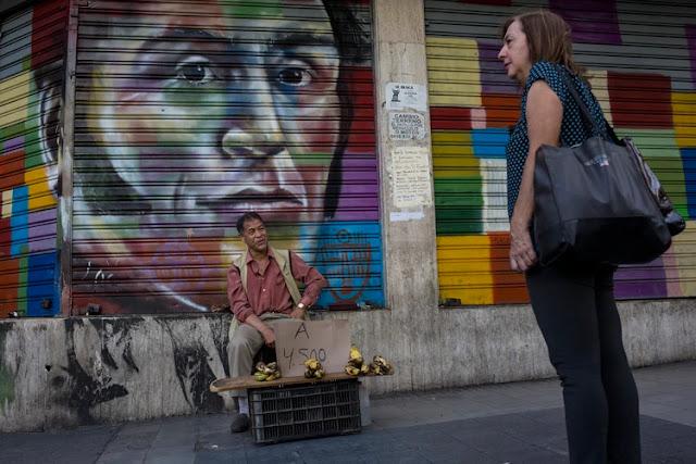 El colapso de la economía de Venezuela es uno de los más graves ocurridos en el mundo en el último medio siglo