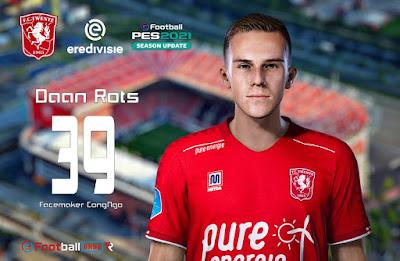 PES 2021 Faces Daan Rots by CongNgo