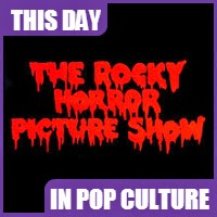 The Rocky Horror Picture Show premiered on August 14, 1975