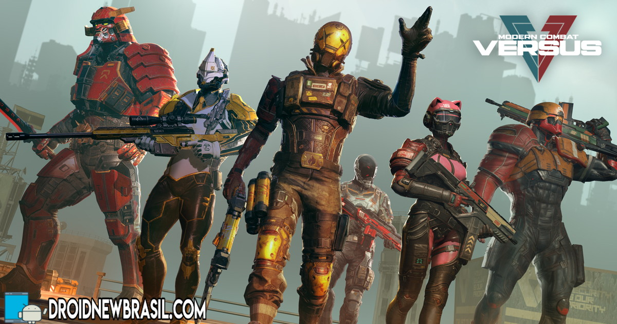 Modern Combat Versus: New Online Multiplayer FPS v1.5.19 Apk – OBB