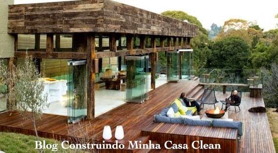 Construindo minha casa clean 30 casas de campo decoradas - Casas de campo restauradas ...
