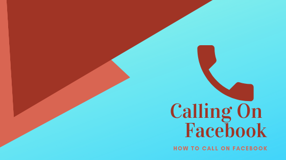 Calling Through Facebook<br/>