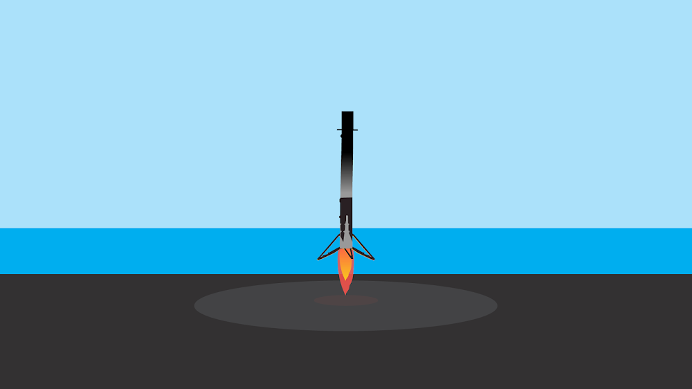 minimalist-desktop-wallpaper-space-x-rocket-falcon-9-landing