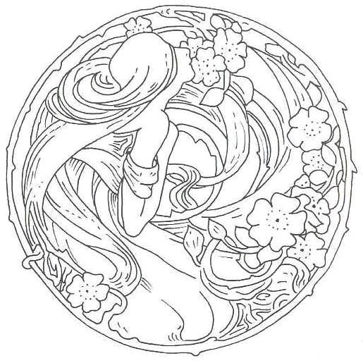 Movements In Design: ART NOUVEAU MOTIFS