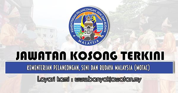 Jawatan Kosong 2020 di Kementerian Pelancongan, Seni dan Budaya Malaysia (MOTAC)