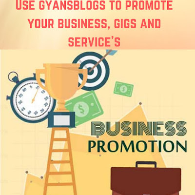 Promote your business on gyansblogs