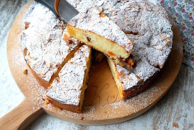 hortex,mrożone owoce,szybkie ciasto ucierane,najprostsze ciasto,jak zrobić szybkie ciasto ucierane