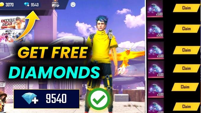 Free Fire गेम में Free Diamond कैसे लें?