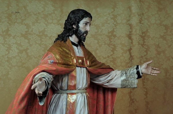 Horario e Itinerario Procesión del Sagrado Corazón del Seminario. Córdoba 24 de Noviembre del 2019