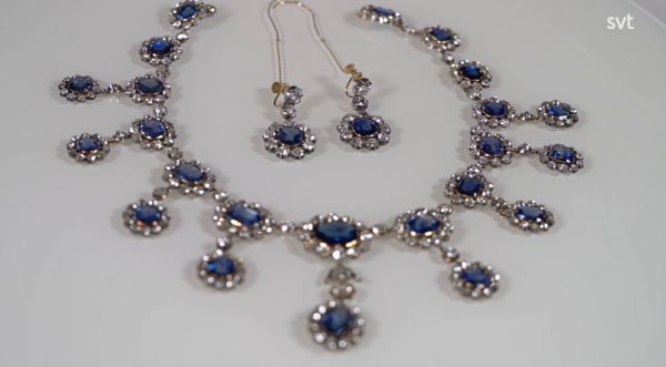 The Leuchtenberg Sapphire Necklace and Earrings