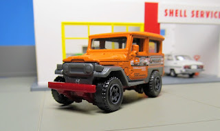 Matchbox Toyota Land Cruiser