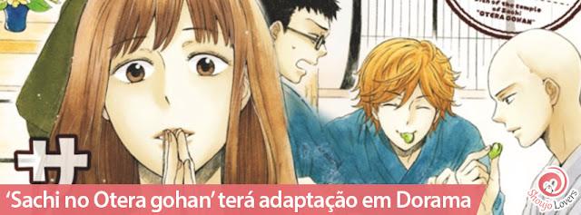 'Sachi no Otera gohan' terá adaptação em Dorama