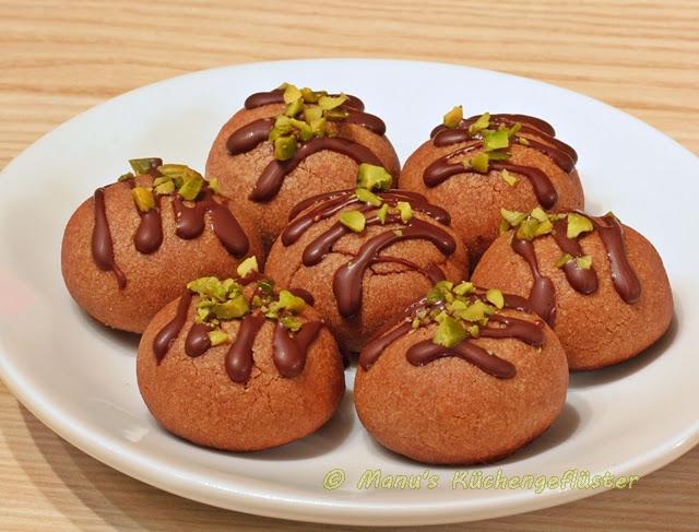 Weihnachtsplätzchen Nougat.Manus Küchengeflüster Nougat Plätzchen