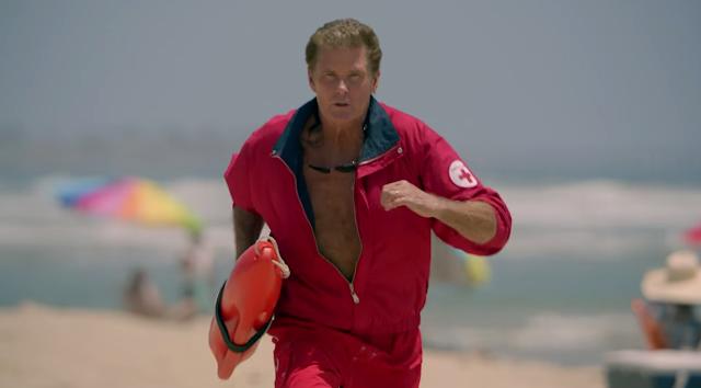 David Hasselhoff se une a la nueva película de 'Los vigilantes de la playa'