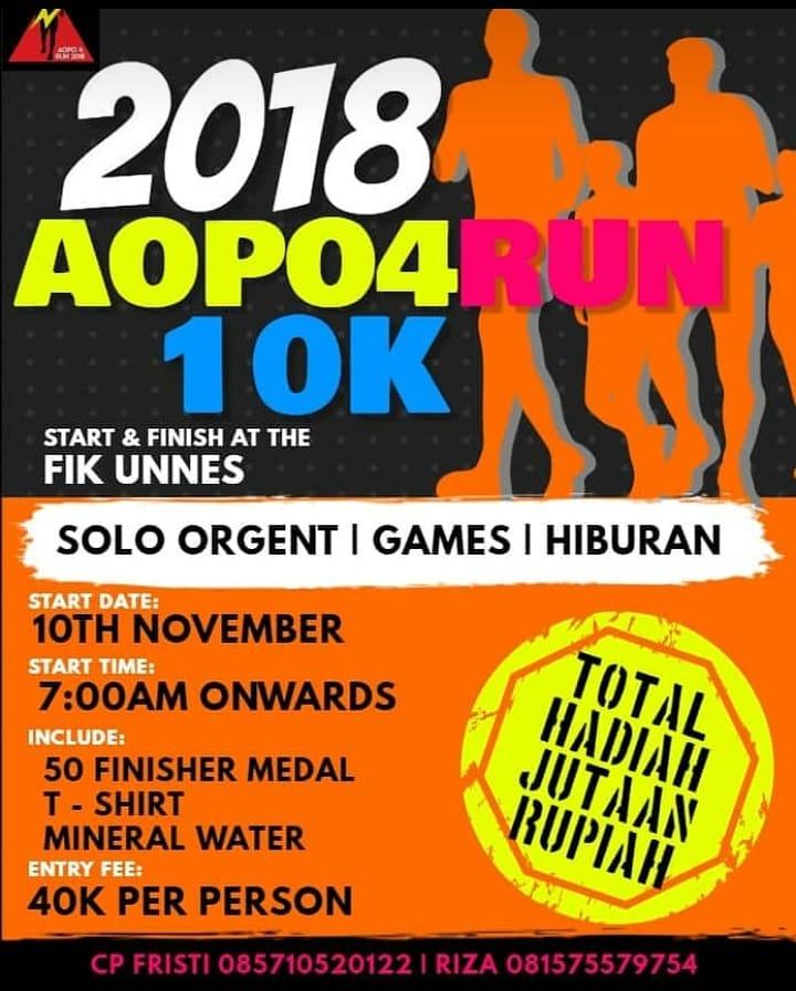 AOPO 4 Run • 2018