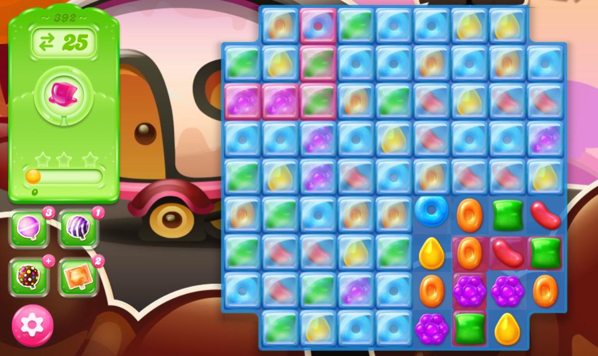 Candy Crush Jelly Saga 392